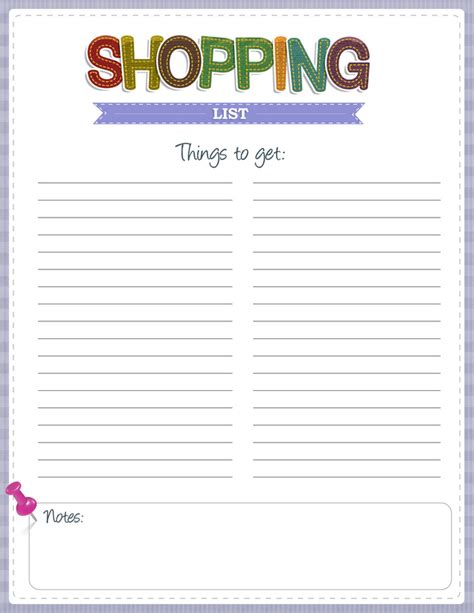 printable grocery list 8 best images of free printable shopping list free
