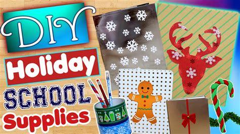 diy holiday school supplies decorate your school