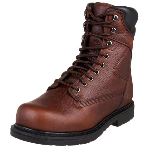 wing composite toe work boots wing worx by wing shoes mens oblique toe steel toe