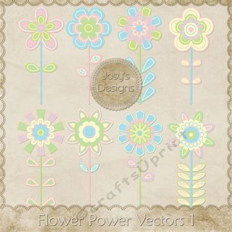 Layered Flower Card Template by Flower Power Layered Templates Pkg 1 Cup748512 70864