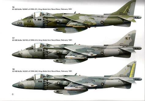 Av 8 Harrier Usmc 1 48 Pro Built Model review av 8b harrier ii units of operations desert shield and desert ipms usa reviews
