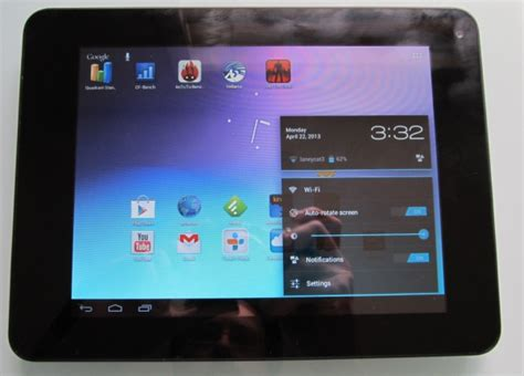 android tablet reviews coby mid8065 8 quot android tablet review liliputing