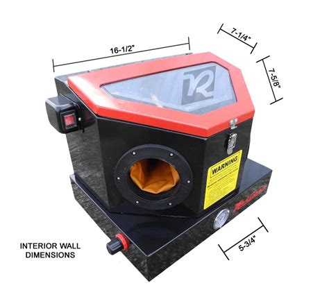 Sand Blasting Cabinet Dust Collector by Redline Re22 Benchtop Abrasive Sand Blasting Cabinet