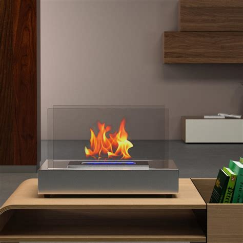 vent free ethanol fireplace moda vigo 14 in vent free ethanol fireplace in