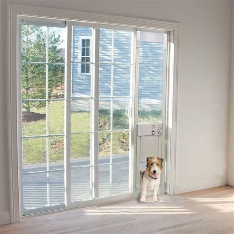 Pet Patio Door by Power Pet Low E Fully Automatic Patio Door Large