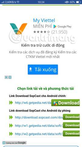 sopcast android apk tin tức c 212 ng nghệ