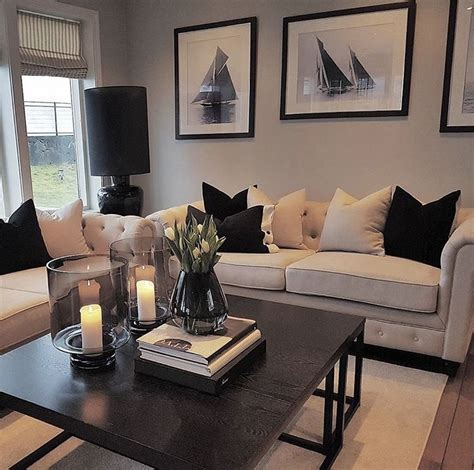 modern chic living room with designs 13
