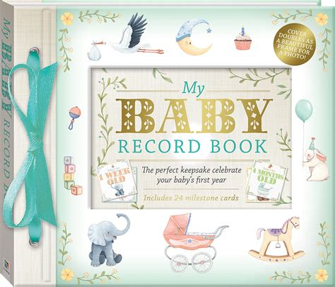 My Baby Book my baby record book deluxe gift sets adults hinkler