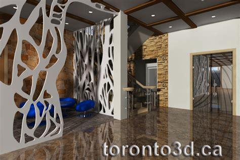 3d archiitectural visualization interior design living room modern style toronto toronto3d ca
