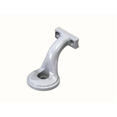 rdi white handrail bracket 73018384 the home depot