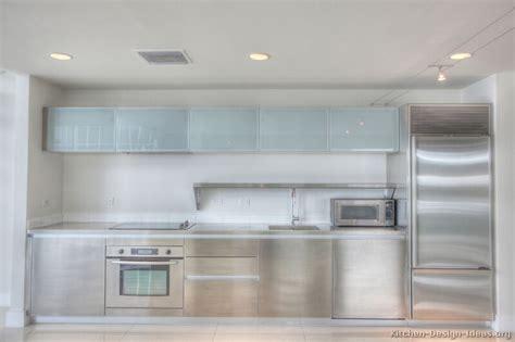 pictures  kitchens modern stainless steel kitchen