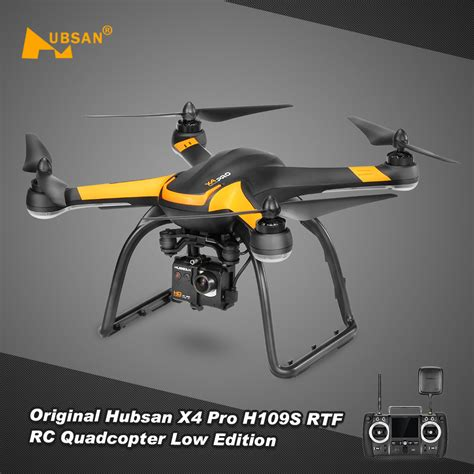 Drone Hubsan X4 Pro H109s Low Edition 1 Axis 5 8g Real Fpv Rc Quadcor us original hubsan x4 pro h109s 5 8g fpv drone with 1080p hd one axis gimbal gps rtf rc