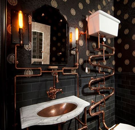 Nautical Themed Lighting Fixture - steampunk interior design ideas from cool to crazy