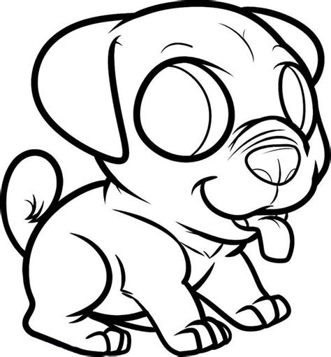 chibi dog coloring pages chibi pug dog coloring page chibi pug dog coloring page