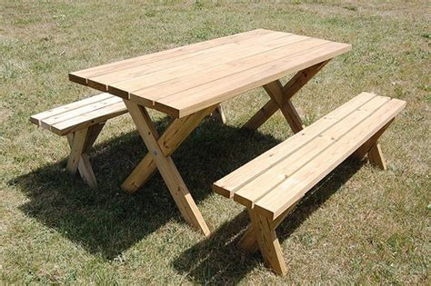 diy picnic table ideas  build  summer