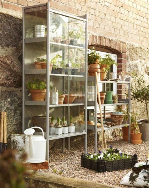 hindo ikea ikea hindo greenhouse cabinet gardenista gardenkat