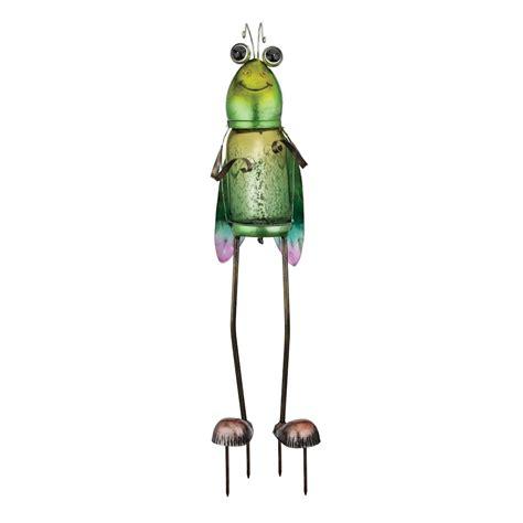 regal and gift garden decor regal gift 10970 25 quot solar garden bug grasshopper