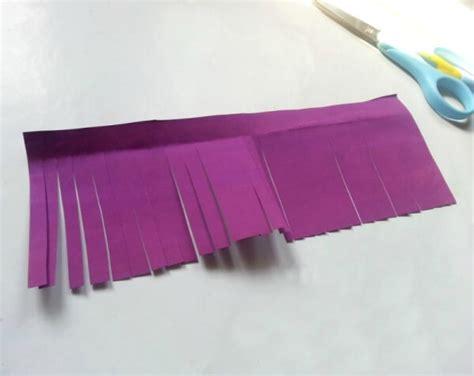 cara membuat bunga dari kertas panjang cara membuat bunga dari kertas tisu dan origami mudah