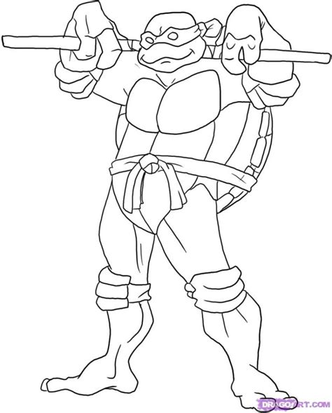leonardo turtle coloring page coloring pages ninja turtle michelangelo coloring pages