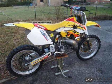 Suzuki Rm 125 1999 125 1999 Motorcycle Specs And Pictures Suzuki Marauder 125