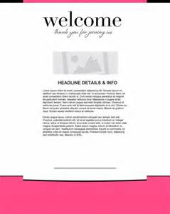 welcome email marketing templates welcome email