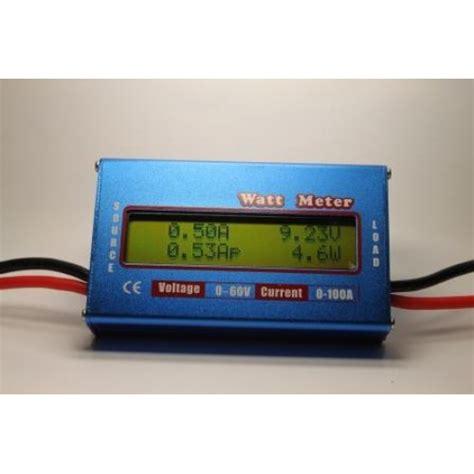 Wattmeter Kwh Meter Dc watt energy meter lcd dinn current dc power