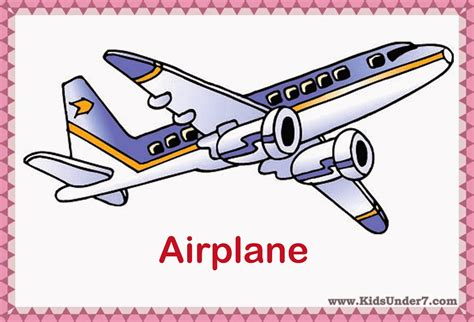 Book Toys Flash Card free coloring pages of transport flashcards