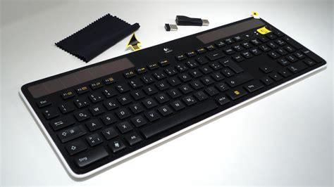 Keyboard Wireless Logitech testbericht logitech wireless solar keyboard k750