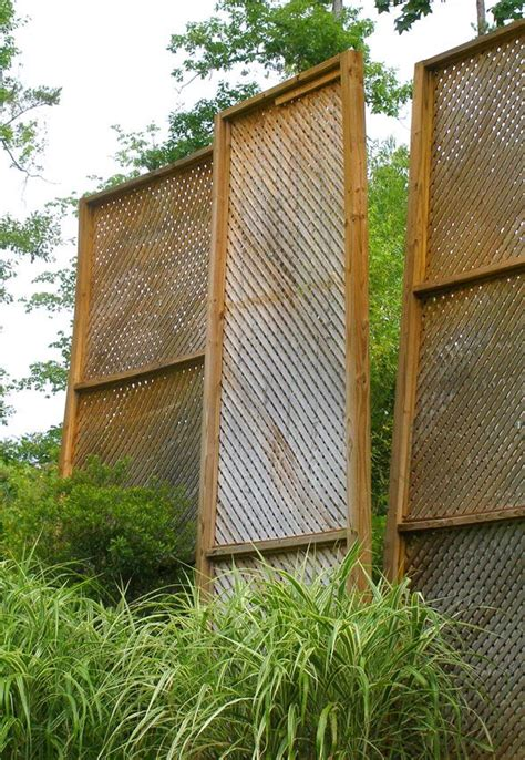 backyard privacy solutions privacy screen keeps blowing in the wind