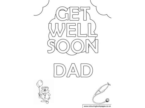 get well soon daddy coloring pages get well soon daddy coloring pages coloring pages