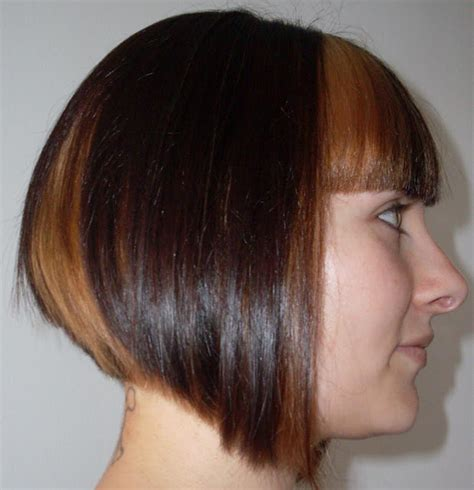 slanted hair styles cut with pictures best angled bob hairstyles pictures 2018