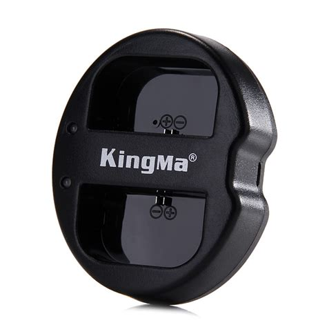 kingma bm015 lpe6 dual 2 channel battery charger