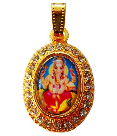 beingwomen gold plated god ganesha pendant buy beingwomen