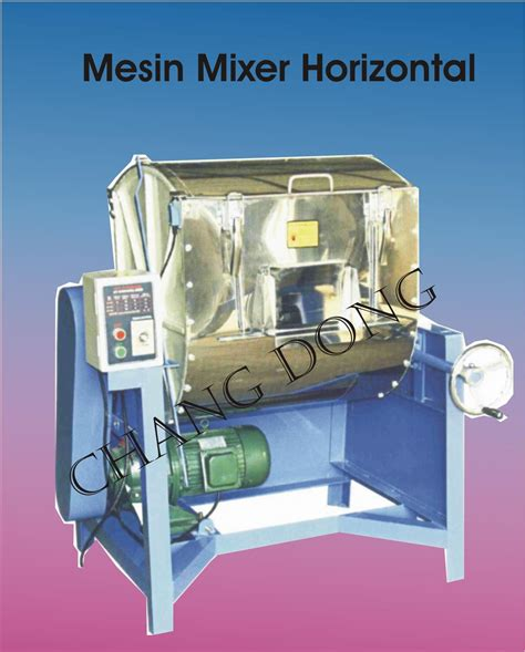 Mixer Industri jual mesin mixer horizantal harga murah bekasi oleh cv