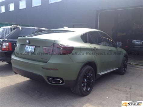 Matte Military Green Car Images