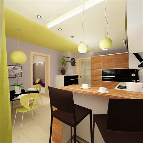 home design for young couple modern kitchen furniture ideas in modern apartment with