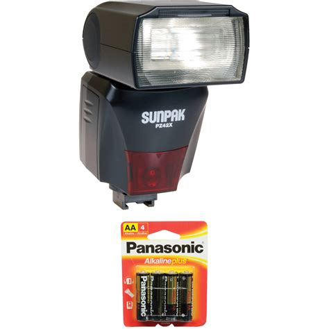 Flashes Sunpak sunpak pz42x ttl flash for sony minolta dslr cameras