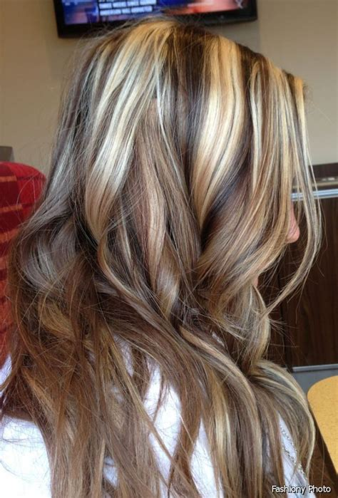 pictires of highlighted hair todfee color chocolate hair color with blonde highlights in 2016