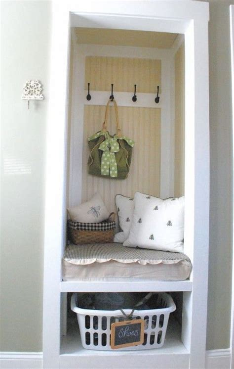 foyer nook ideas idea for a small closet laundry mud rooms