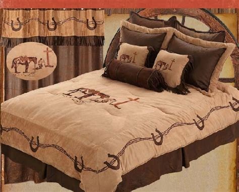 cowboy comforter western cowboy bedding western praying cowboy bedding