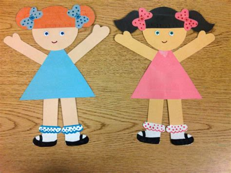 Paper Dolls Craft - paper doll pattern