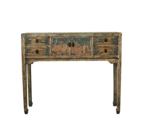 Retro Console Table Vintage Console Table Tree Designs