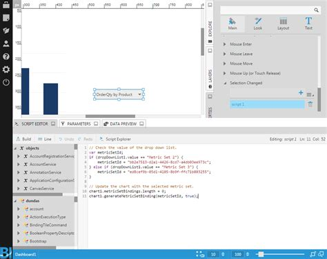 bluefish editor design view using the script editor design view documentation
