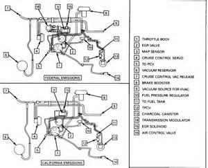 88 seville vacuum hoses