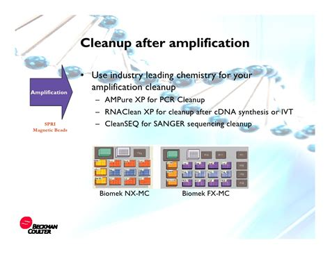 rnaclean xp automated solutions for working with dna rna