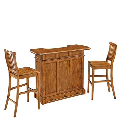Canadian Dining Room Furniture Americana Bar And Two Stools 5004 998 Canada Discount Canadahardwaredepot