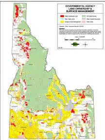 idaho land ownership map