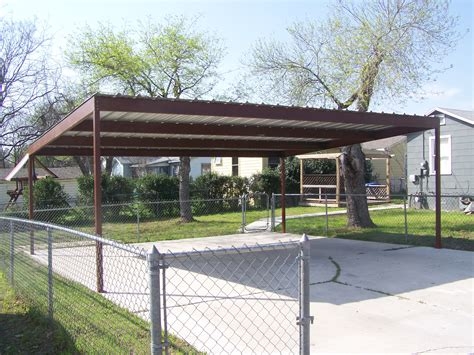 Car Ports Metal by Metal Two Car Carport Central San Antonio