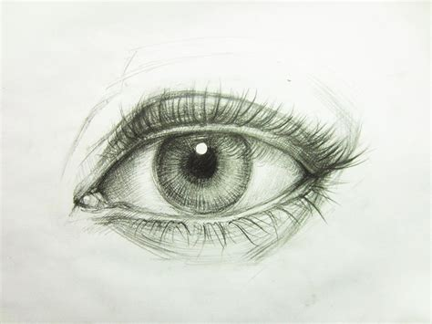 Drawing Eyelashes by How To Draw A Realistic Eye Mike Luan Dao