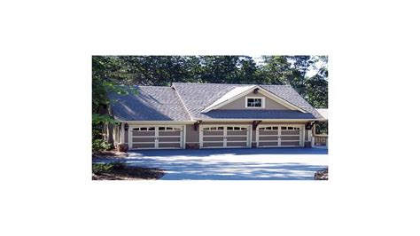 carriage house plans gt rustic 3 bay guest house plan